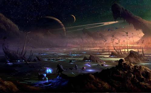 El planeta de Moorwen